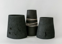 Black Towers, H.36cm, 40cm, 32cm