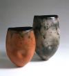 Dimpled pots, H. 26, 33cm